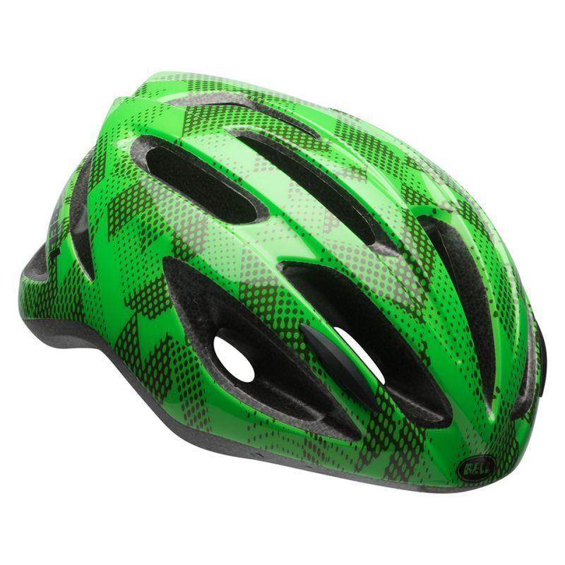 BELL CREST R Jr 「ベル クレストR ジュニア」 ライム/クリプトナイト UY(50-57cm) 7083654 子供 キッズ ヘルメット