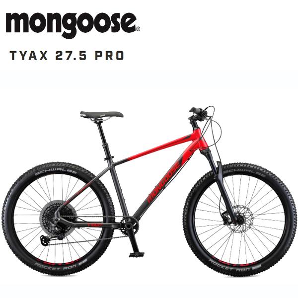 画像1: 【10月入荷予定】 2020 MONGOOSE TYAX PRO 27.5「マングース タイヤックス プロ 27.5」 RED マウンテンバイク (1)