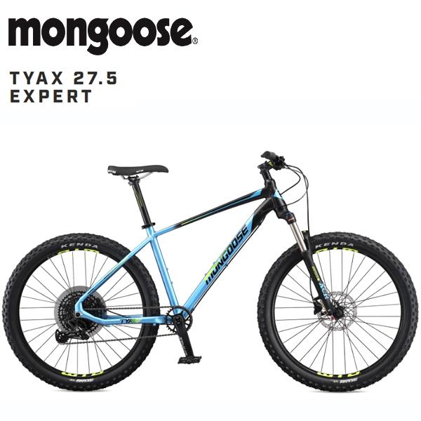 画像1: 【12月入荷予定】 2020 MONGOOSE TYAX EXPERT 27.5「マングース タイヤックス エキスパート 27.5」 BLACK マウンテンバイク (1)