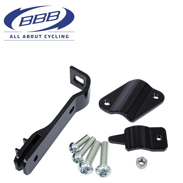 BBB スタンド アジャスタブルクランプ ブラック 026680 キックスタンド パーツ
