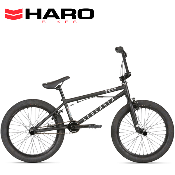 2021 HARO ハロー LEUCADIA DLX 20.5 MATTE BLACK 21264 BMX
