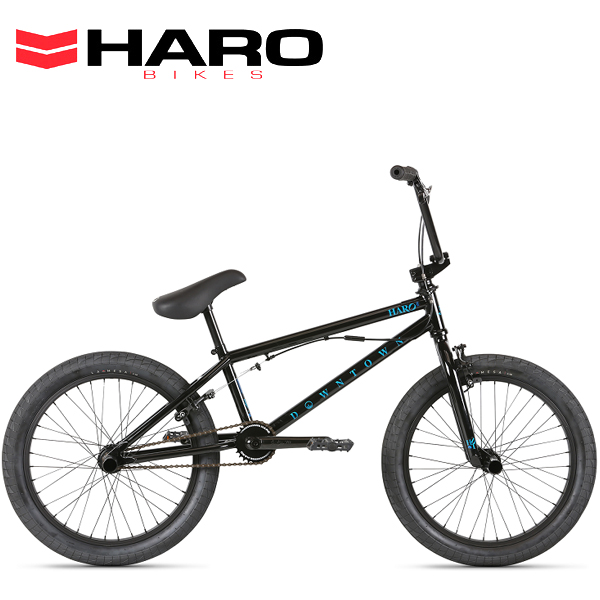 2021 HARO ハロー DOWNTOWN DLX 20.5 BLACK 21341 BMX