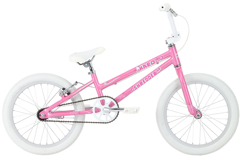 2018 HARO BIKES SHREDDER 18 GIRLS ハロー シュレッダー 18 GIRLS (ALLOY) PEARL-PINK 28113 2050400535