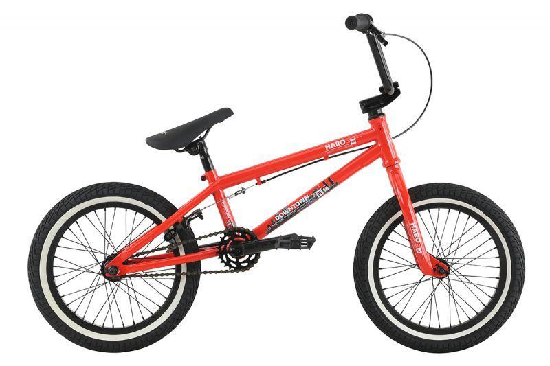 "HARO Bikes (ハローバイクス) 17HARO DOWNTOWN 16"" GLOSS-FST-RED 27222"