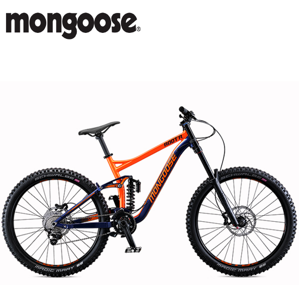 画像1: 【10%OFF 特価】2019 MONGOOSE BOOT'R 27.5 S NAVY SM マウンテンバイク (1)