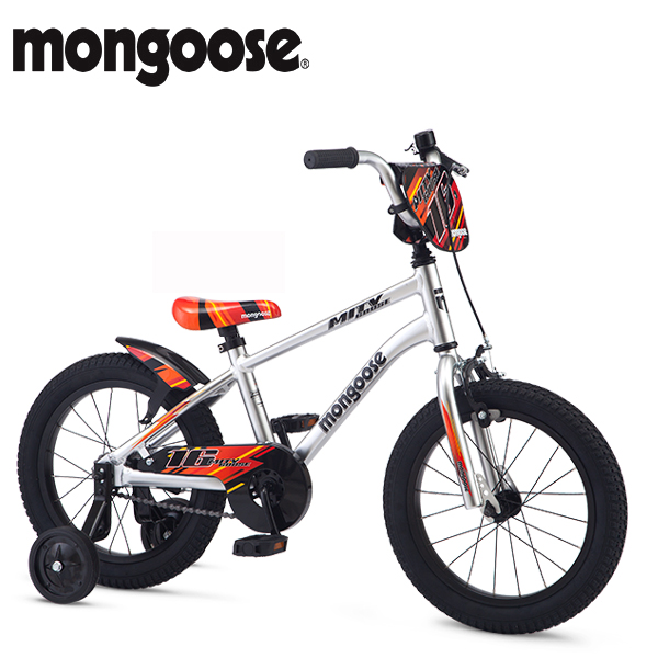 2018 MONGOOS (マングース) MITYGOOSE 16 SILVER 16インチ 子供用自転車