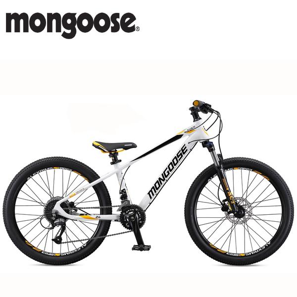 画像1: 2018 MONGOOSE  TYAX 24 (タイアックス 24) WHITE M59108M10OS (1)