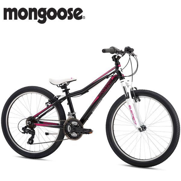 画像1: 2018 MONGOOSE  ROCKADILE 24 GIRLS (マングース ロッカダイル 24 ガールズ) BLACK M51127F10OS (1)