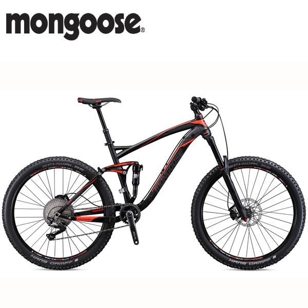 画像1: 【15%OFF 特価】2018 MONGOOSE TEOCALI EXPERT 27.5 (マングース テオカリ エキスパート 27.5) BLACK マウンテンバイク (1)