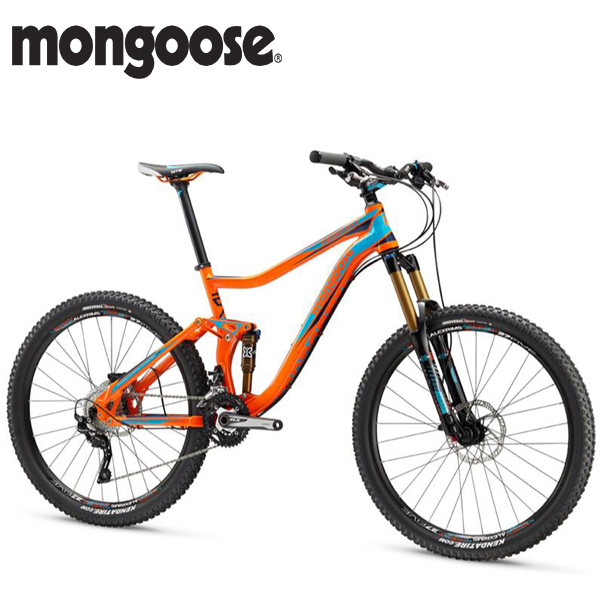 画像1: 【特価】 2016 MONGOOSE TEOCALI EXPERT 27.5 ORANGE MM0994SMO1 (1)