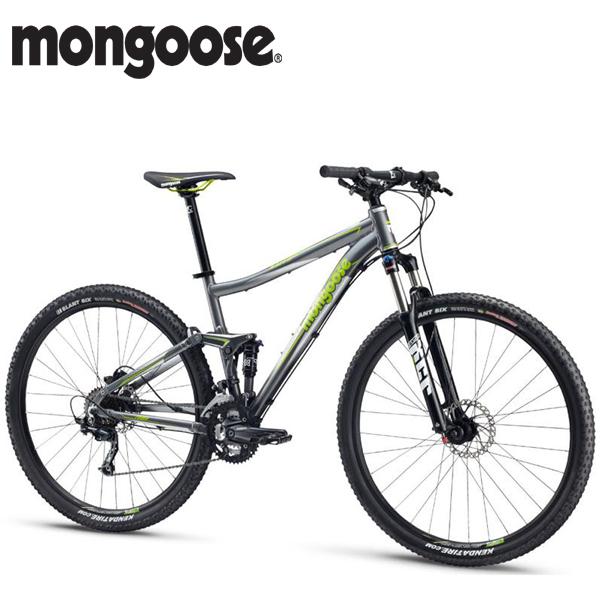 2014 MONGOOSE SALVO 29 COMP (マングース サルボ 29 コンプ) GRAY 29インチ