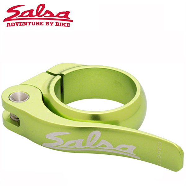 SALSA CYCLES (サルサ サイクル) FLIP-LOCK 36.4mm LIME BOX-PACKAGE ST8536 シートクランプ