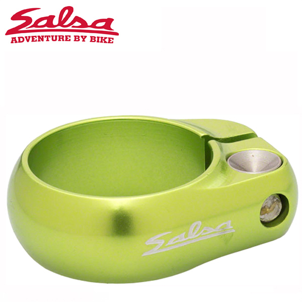 SALSA CYCLES (サルサ サイクル) LIP-LOCK 36.4mm LIME BOX-PACKAGE ST8774 シートクランプ