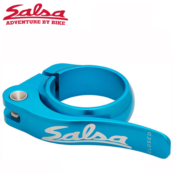 SALSA CYCLES (サルサ サイクル) FLIP-LOCK 35.0mm TEAL BOX-PACKAGE ST8040 シートクランプ