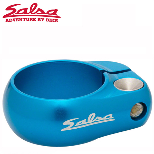 SALSA CYCLES (サルサ サイクル) LIP-LOCK 35.0mm TEAL BOX-PACKAGE ST8080 シートクランプ
