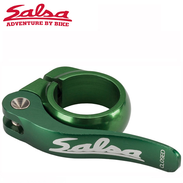 SALSA CYCLES (サルサ サイクル) FLIP-LOCK 30.6mm GRN HEADER-PACKAGE ST8452 シートクランプ