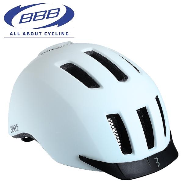 BBB ヘルメット グリッド [BHE-161] ホワイト