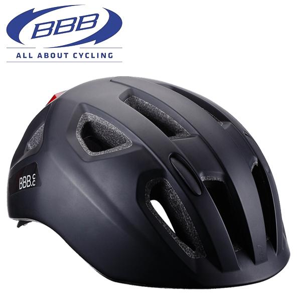 BBB ヘルメット ソナー [BHE-171] ブラック Mサイズ(52-58CM) 子供 キッズ ヘルメット