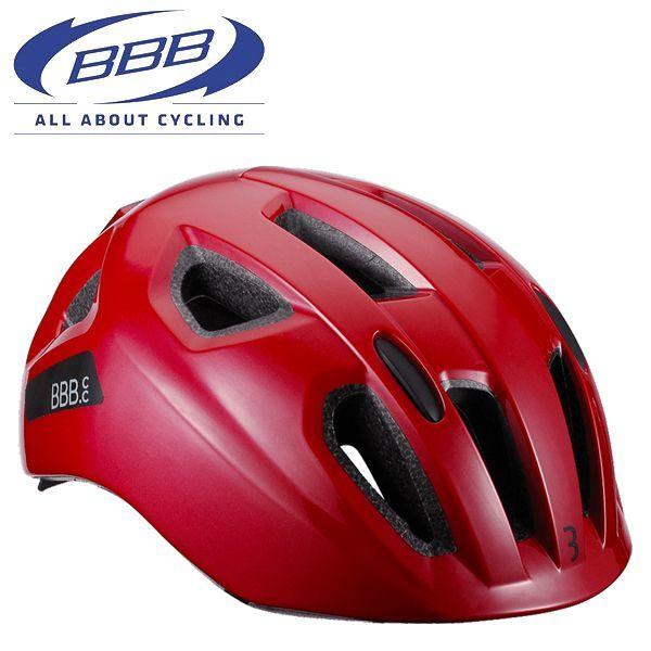 BBB ヘルメット ソナー [BHE-171] レッド Mサイズ(52-58CM) 子供 キッズ ヘルメット