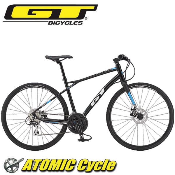 画像1: 2019 GT クロスバイク トラフィックX TRAFFIC X ブラック (1)