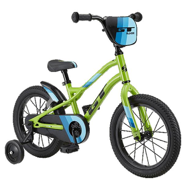 2020 GT Runge 16 (ランジ16) グリーン 16インチ キッズ 子供 自転車