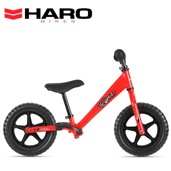2020 HARO BIKES (ハロー バイクス) PREWHEELZ 12(ALLOY) BRIGT-RED 12インチ ランバイク