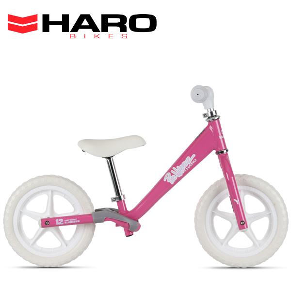2020 HARO BIKES (ハロー バイクス) PREWHEELZ 12(ALLOY) PEARL-PINK 12インチ ランバイク