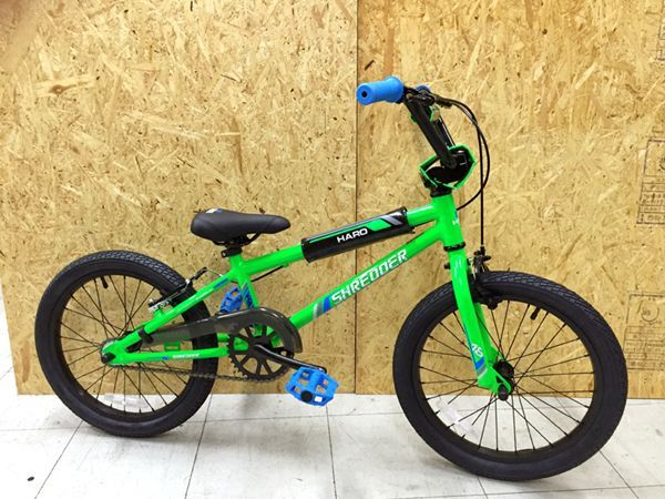 2018 HARO BIKES SHREDDER 18 ハロー シュレッダー 18 (ALLOY) GLOSS-BAD-APPLE 28111 18インチ BMX
