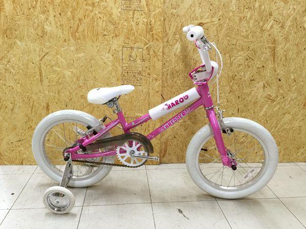 2018 HARO BIKES SHREDDER 16 GIRLS ハロー シュレッダー 16 GIRLS (ALLOY) PEARL-PINK
