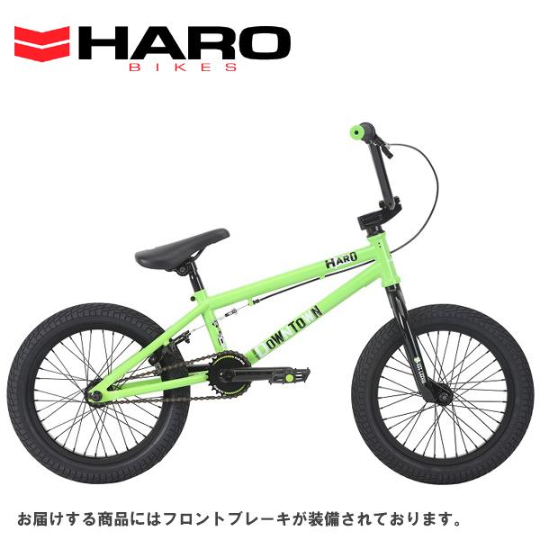 画像1: 2018 HARO BIKES 「ハロー ダウンタウン16」DOWNTOWN 16 GLOSS-LIME キッズ BMX (1)