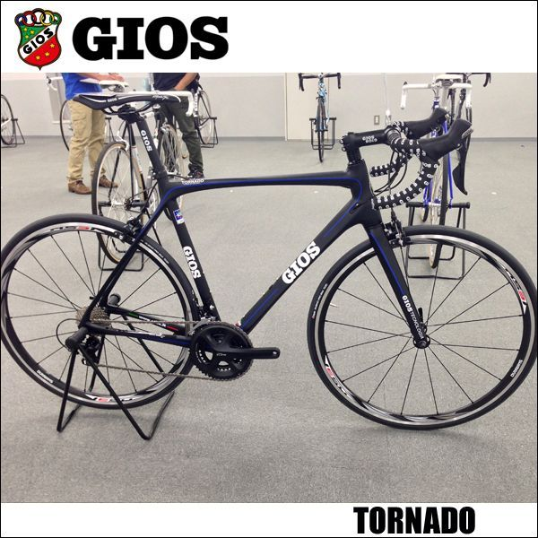 画像1: 2015 GIOS (ジオス) TORNADO トルナード ULTEGRA Di2 Rs 81-C50 カーボン フレーム ロードレーサー (1)