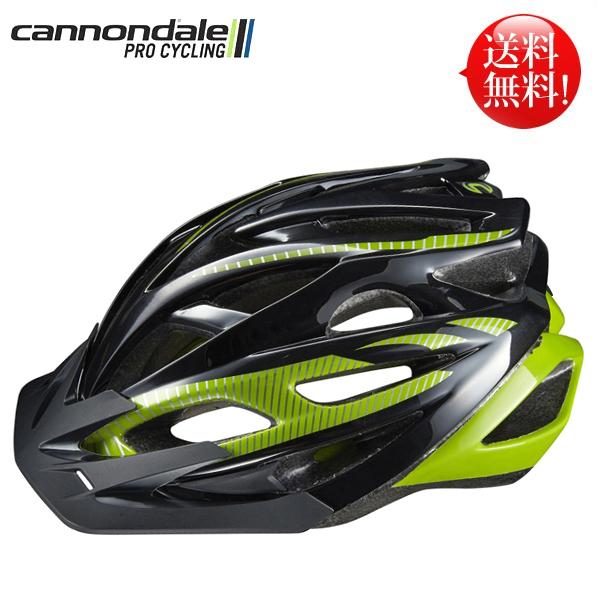 キャノンデール ヘルメット ラディウス CANNONDALE RADIUS BLKGRN L/XL(58-62cm) 自転車 ヘルメット