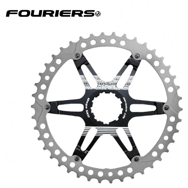 画像1: FOURIERS MTB スプロケット40T ブラック (DX008-SK-401) 10600041 (1)