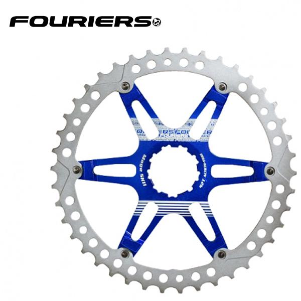 画像1: FOURIERS MTB スプロケット42T ブルー (DX008-SK-426) 10600056 (1)