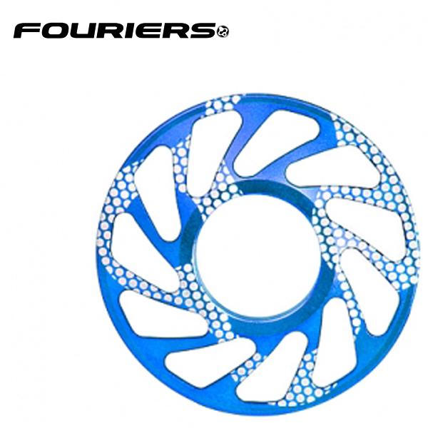 画像1: FOURIERS DHスプロケットスペーサー 最大ギア19T (DX003-1906) ブルー 10601025 (1)