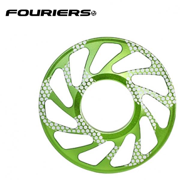 画像1: FOURIERS DHスプロケットスペーサー 最大ギア24T (DX003-2407) グリーン 10601036 (1)
