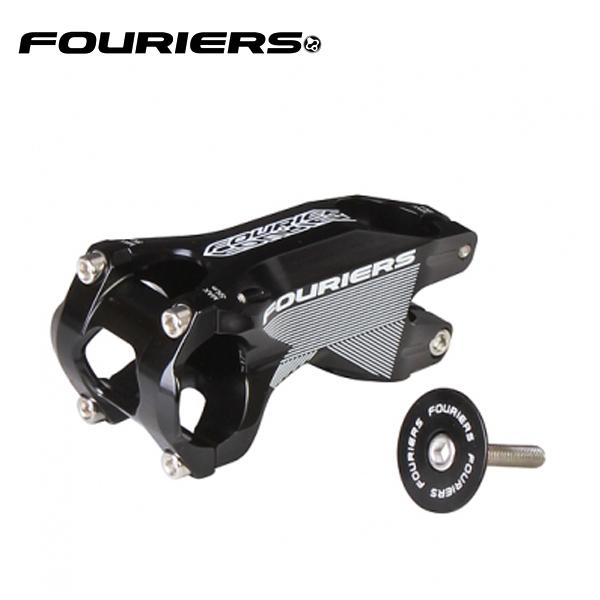 画像1: FOURIERS ステム -17°SM-MB111-G17 70mm ブラック 10600812 (1)
