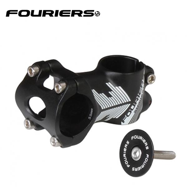 画像1: FOURIERS ステム +/-0°SM-MB110-GO 55mm ブラック 10600833 (1)