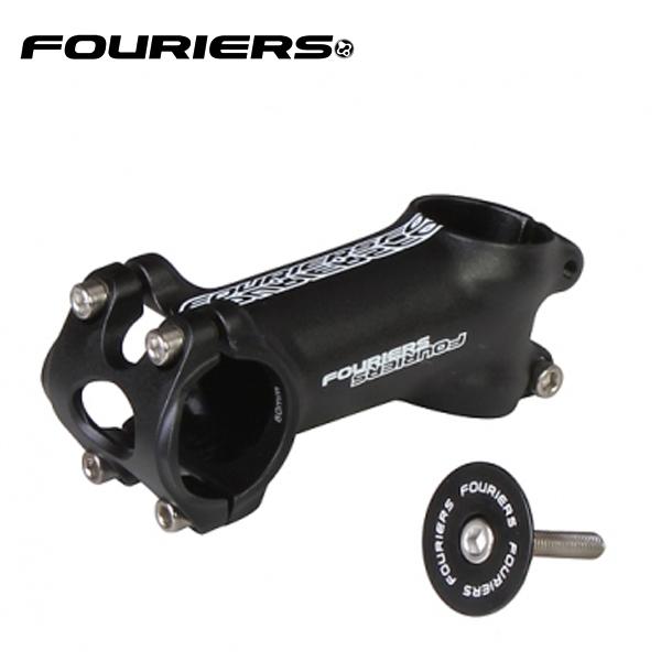 画像1: FOURIERS ステム +/-17°SM-RA010 80mm ブラック 10600821 (1)