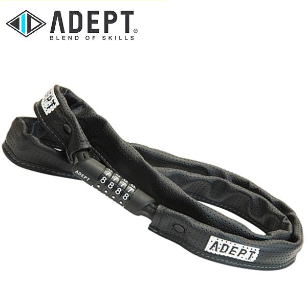画像1: 自転車 ロック 鍵 ADEPT アデプト C311 BLK LKW25700 (1)