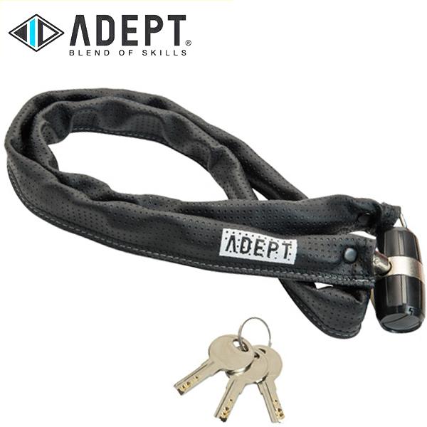 画像1: 自転車 ロック 鍵 ADEPT アデプト K311 BLK LKW25800 (1)