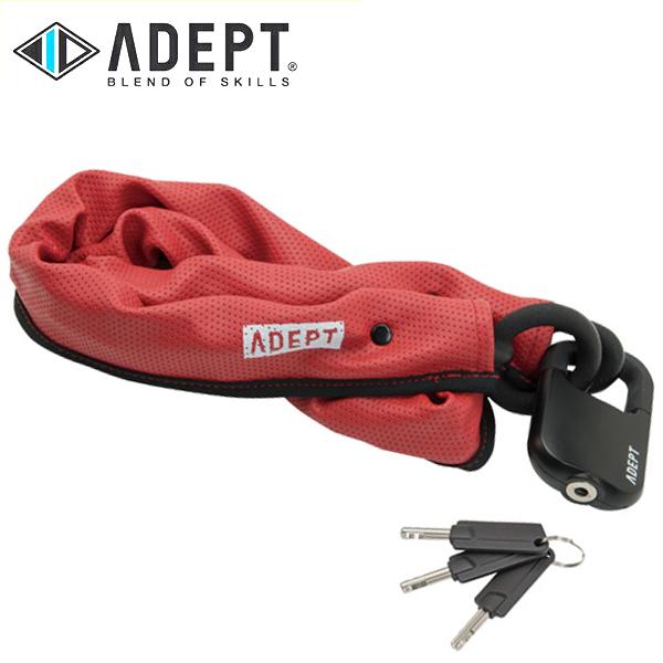 画像1: 自転車 ロック 鍵 ADEPT アデプト MOD 511 RED LKW25901 (1)