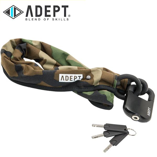 画像1: 自転車 ロック 鍵 ADEPT アデプト MOD 511 カモフラージュ LKW25902 (1)