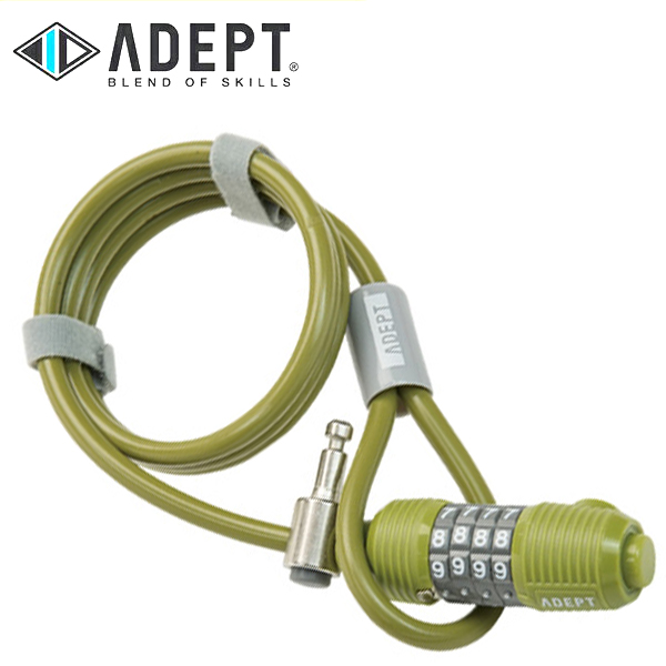 画像1: 自転車 ロック 鍵 ADEPT アデプト WIZ 812 KAK LKW26303 (1)