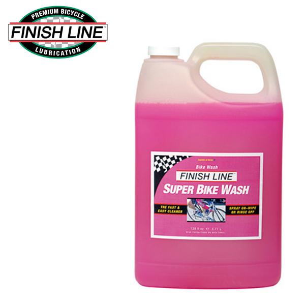 画像1: FINISH LINE フィニッシュ ライン スーパーバイク ウォッシュ 3.77L ボトル TOS08101 自転車 ケミカル (1)