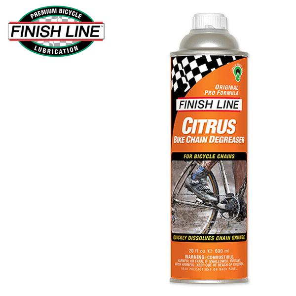 画像1: FINISH LINE フィニッシュ ライン シトラス Bチェーン ディグリーザー 600ml 缶 TOS09501 自転車 ケミカル (1)