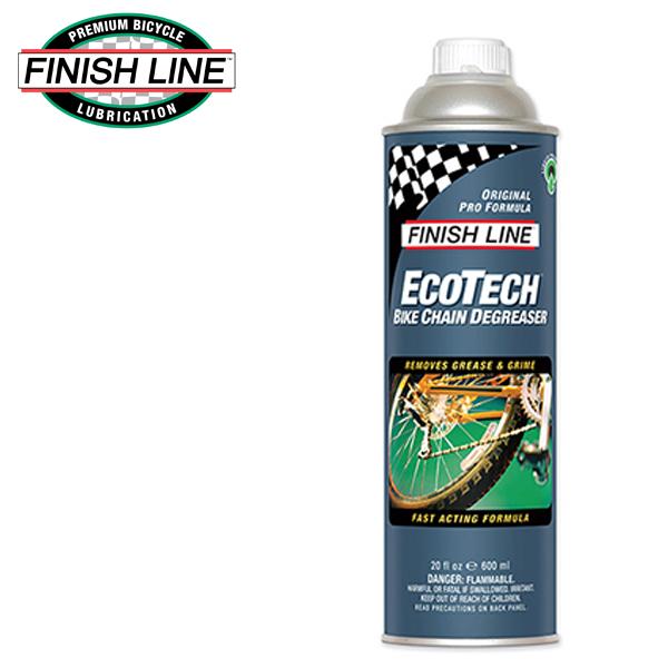 画像1: FINISH LINE フィニッシュ ライン エコテック Bチェーン ディグリーザー 600ml 缶 TOS10801 自転車 ケミカル (1)