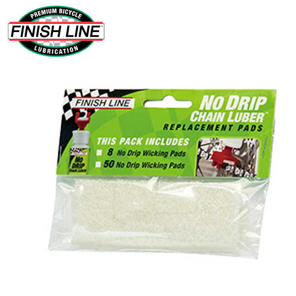 画像1: FINISH LINE フィニッシュ ライン リプレイスパッド 8枚入 TOS11000 自転車 ケミカル (1)