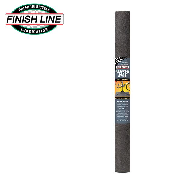 画像1: FINISH LINE フィニッシュ ライン アブゾーブ イット マット L (152x91cm) TOS11101 自転車 ケミカル (1)