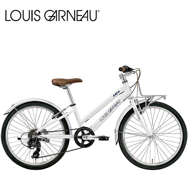 画像1: 【2021年3月入荷予定】 LOUIS GARNEAU ルイガノ J22 PLUS LG White 22インチ  キッズ 子供 自転車 (1)